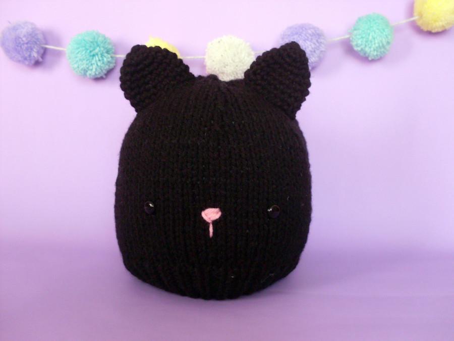 gorro gato negro